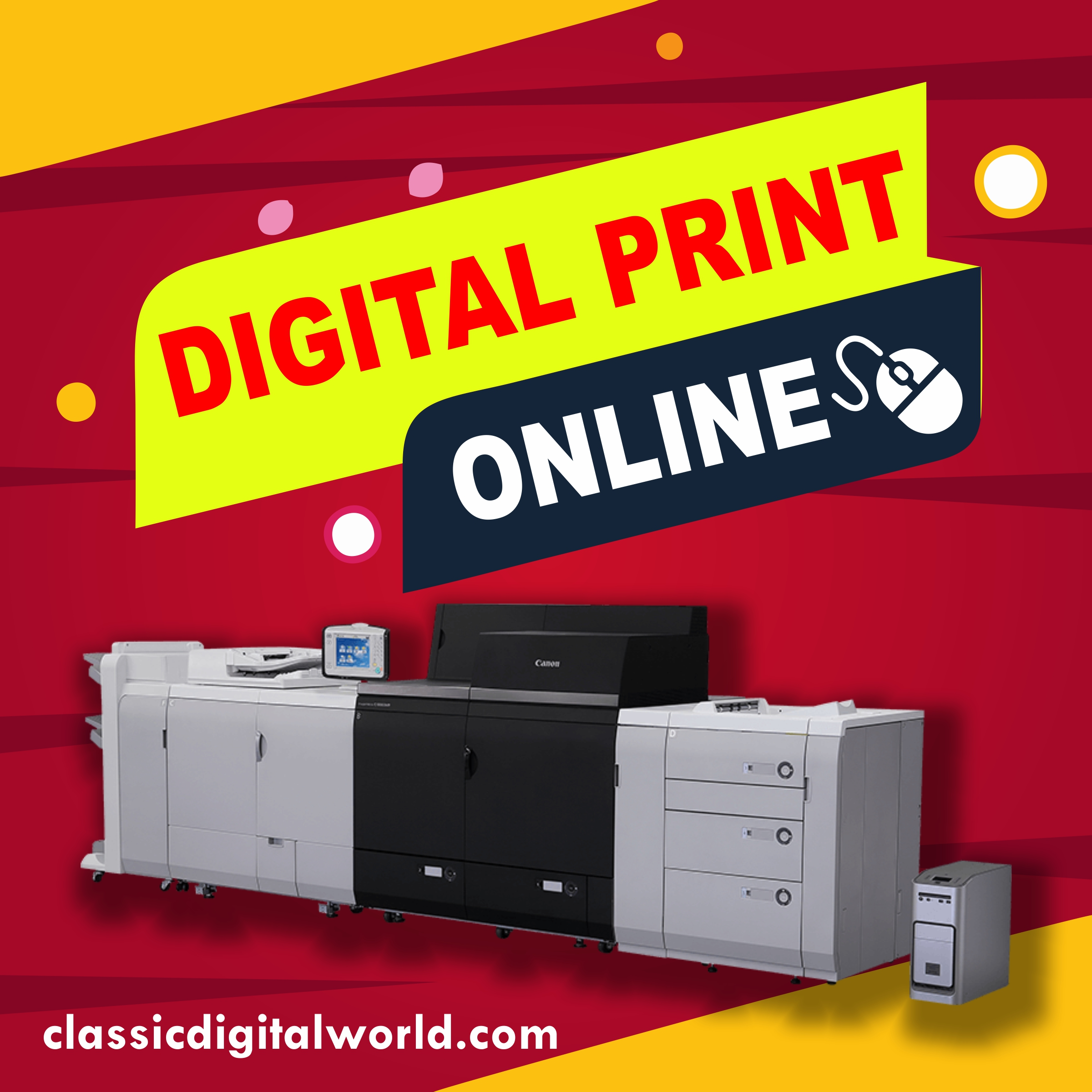how to use our website for digital print